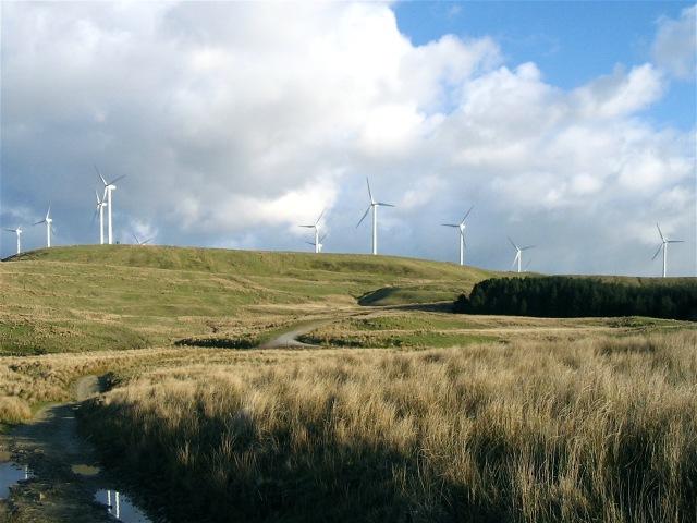 Ffynnon Oer wind farm