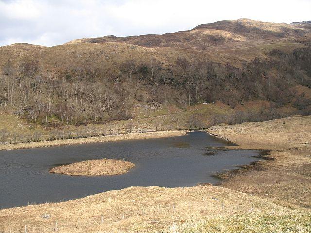 A new pond, Glen Ure