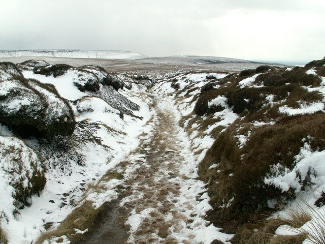 Devil's Dike part of the Pennine Way