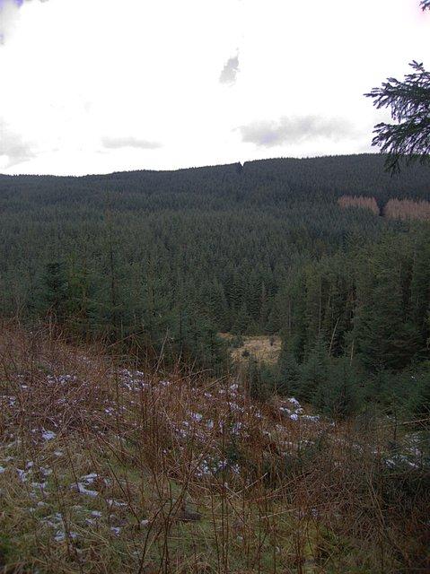 Hirnant gorge