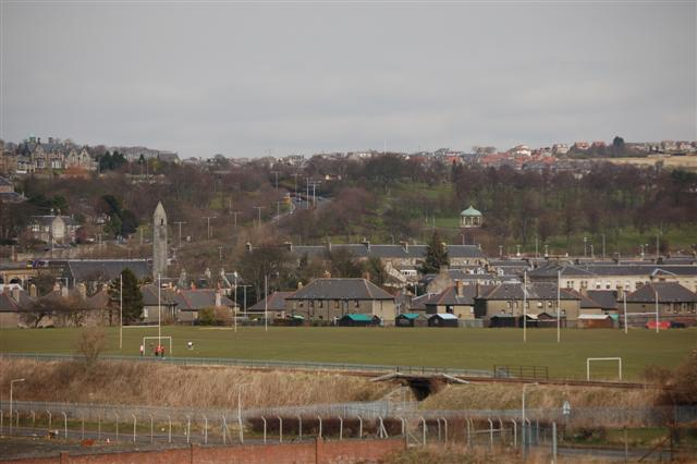 A view across Dunfermline