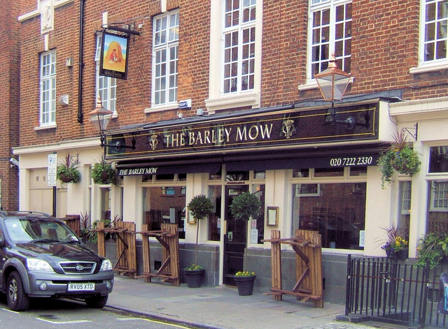 The Barley Mow, Horseferry Road, Westminster, London SW1