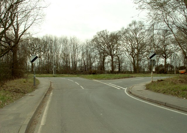 Road junction near Galleywood