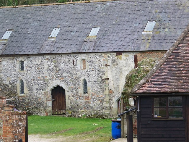 Medieval Barn, Rockbourne