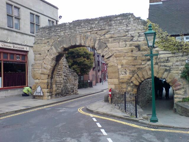 The Roman North Gate