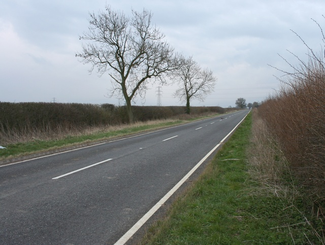 Fosse Way, near High Cross
