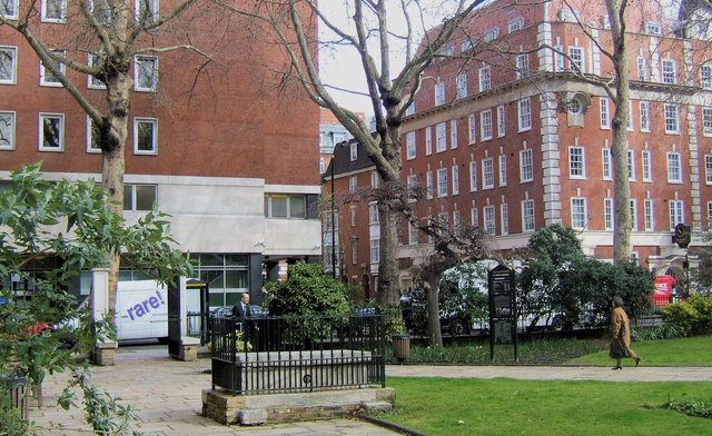 St John's Burial Ground, Horseferry Road, Westminster, London SW1