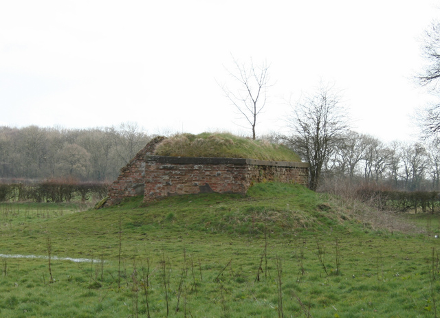 Remains of Decoy Airfield (Q-Site) control bunker