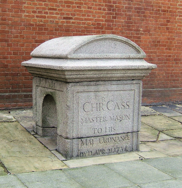 Tomb of Christopher Cass in St John's Burial Ground, Westminster, London SW1