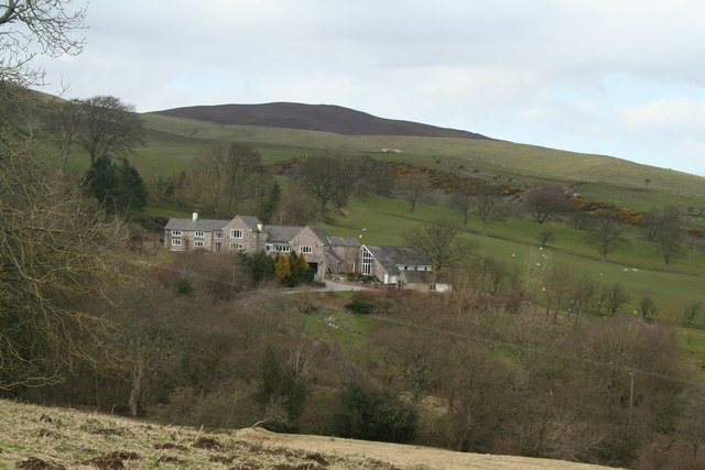 Rhos-Goch Country House with southerly aspect