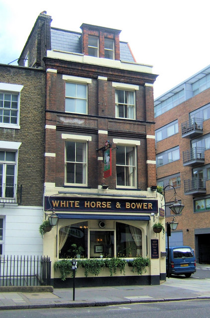 White Horse and Bower, Horseferry Road, Westminster, London SW1