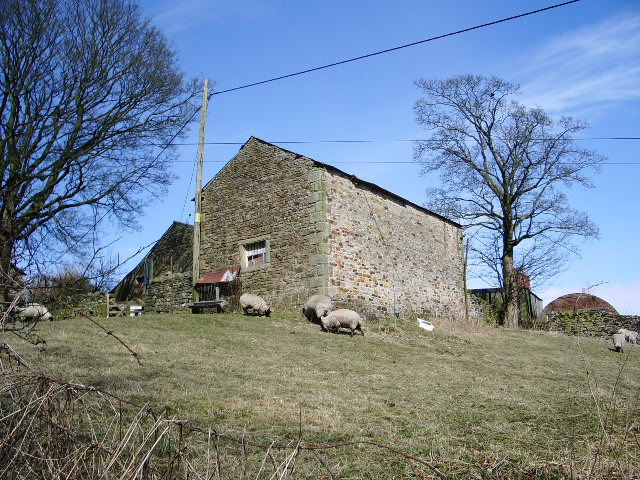 Stone barn at Duckmire