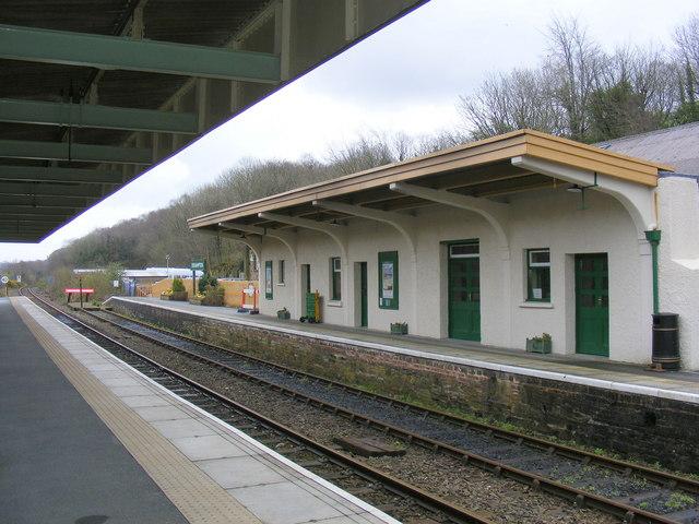 Okehampton Station Platform 2.