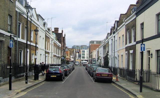Longmoore Street, Victoria, London SW1
