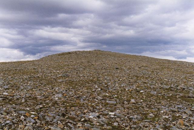 On Carn Liath's summit plateau