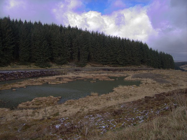 Source pool of the Tywi Fechan