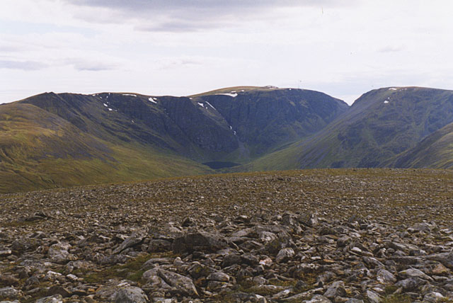 View west southwest from Carn Liath