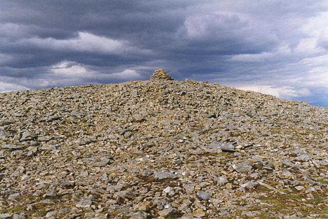 The summit of Carn Liath