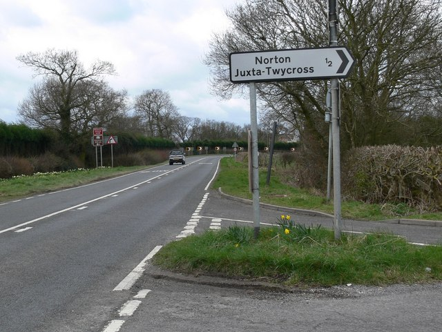 Turn right for Norton-Juxta-Twycross