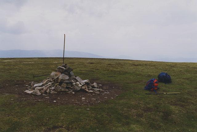 The summit of Carn na Caim