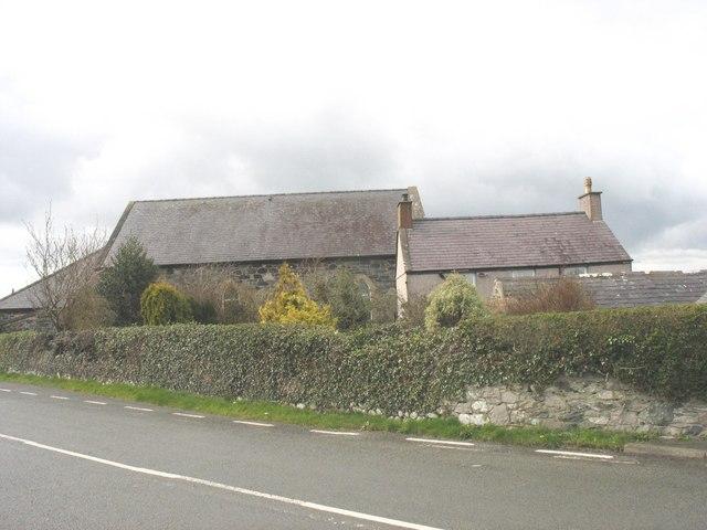 Capel a Ty Capel Cysegr Chapel and Chapel House