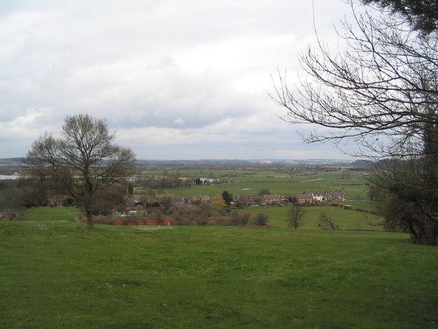 Thrumpton from Wright's Hill