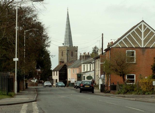 Church Street in Great Baddow