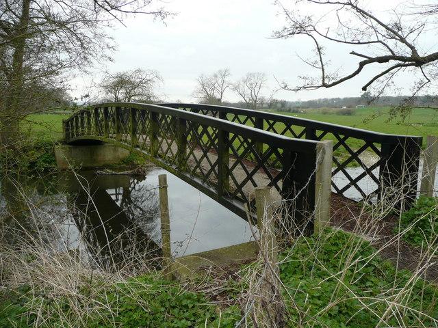 White Bridge over the Wey