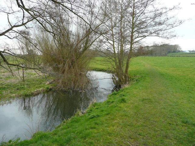River and footpath