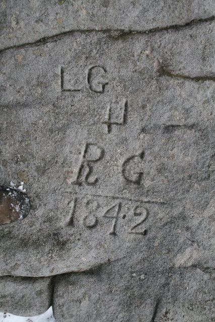 Inscribed stone, Grit Fell