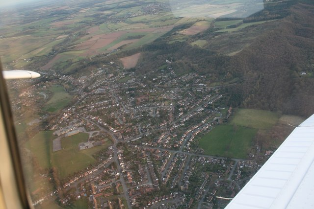 Kinver from the air
