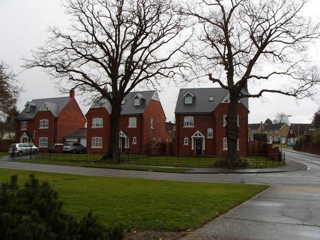 Executive houses, Greenways, Eaton
