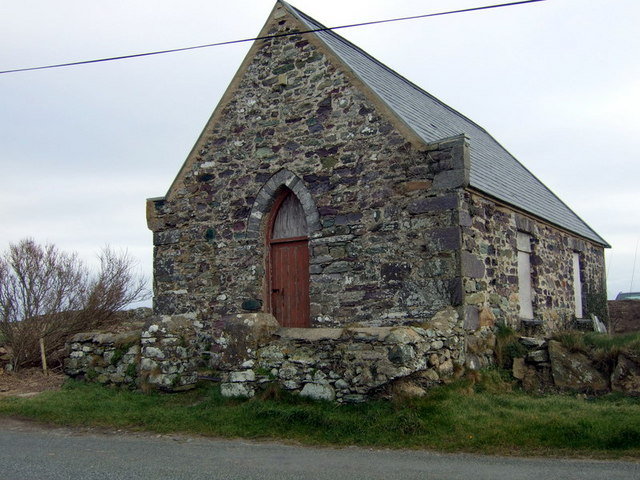 Bethel chapel at Rhosson