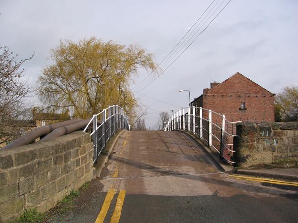 Road bridge over Calder and Hebble Navigation