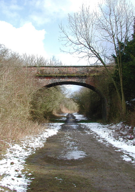 Chalk Bridge, Etton Wold