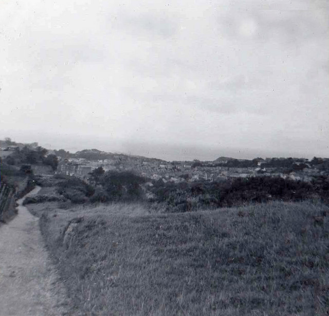 Hillsborough near Ilfracombe, Devon taken 1960