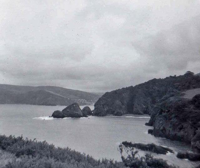 Combe Martin, Devon taken 1960