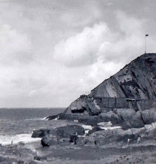 Capstone Hill, Ilfracombe, Devon taken 1960