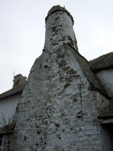Flemish chimney at Rhosson