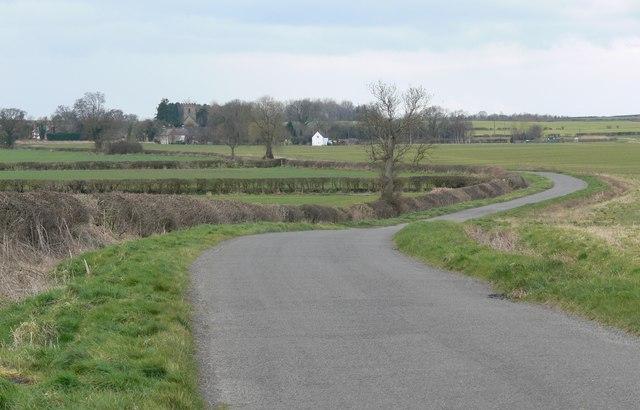 Shelford Lane towards Norton-Juxta-Twycross