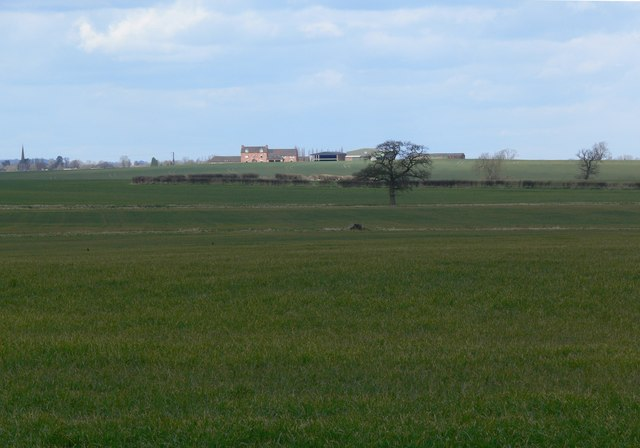 Flat farmland near Norton-Juxta-Twycross