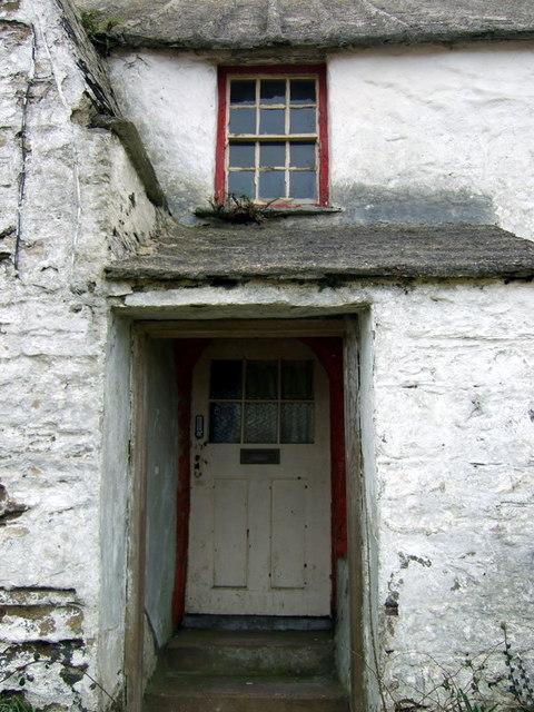Doorway at Rhosson Uchaf