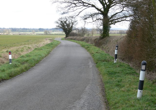 East along Shelford Lane