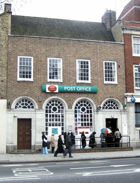 Post Office, Vauxhall Bridge Road, London SW1