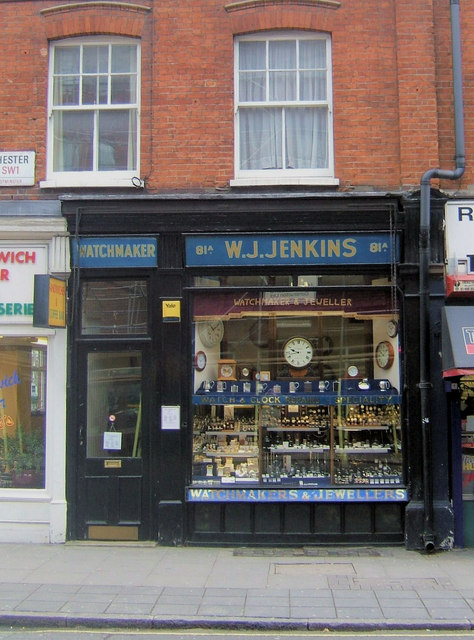 Watchmakers Shop, 81a, Rochester Row, London SW1