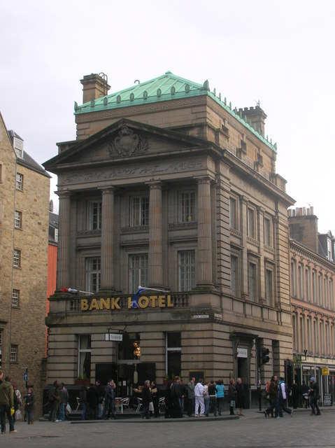 Bank Hotel, High Street, Edinburgh