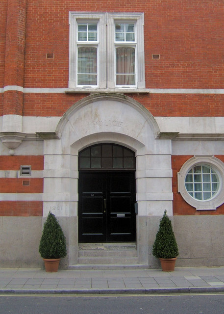 Former Police Station, Rochester Row, London SW1