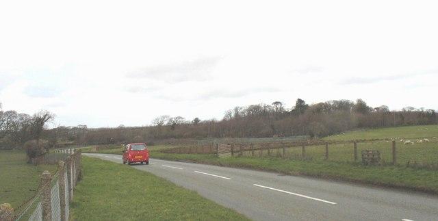 Caernarfon's outer bypass road