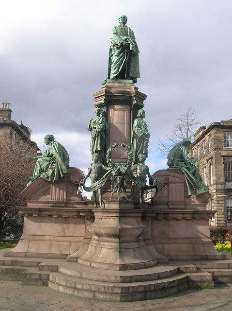 William Gladstone Monument, Coates Crescent Gardens