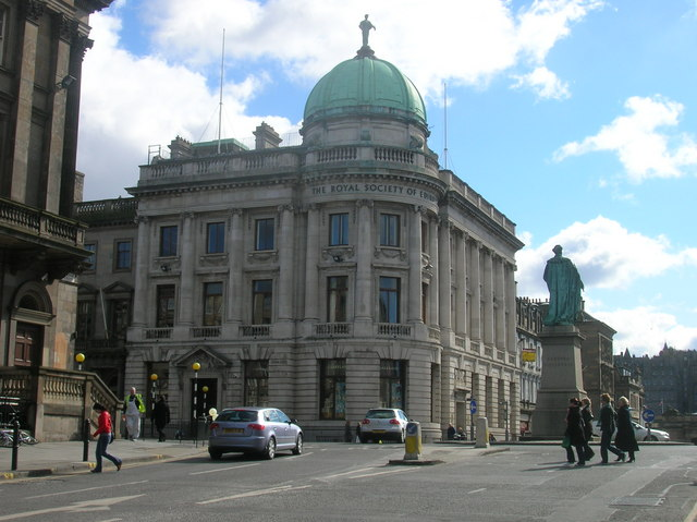 The Royal Society of Edinburgh at junction of George Street and Hanover Street